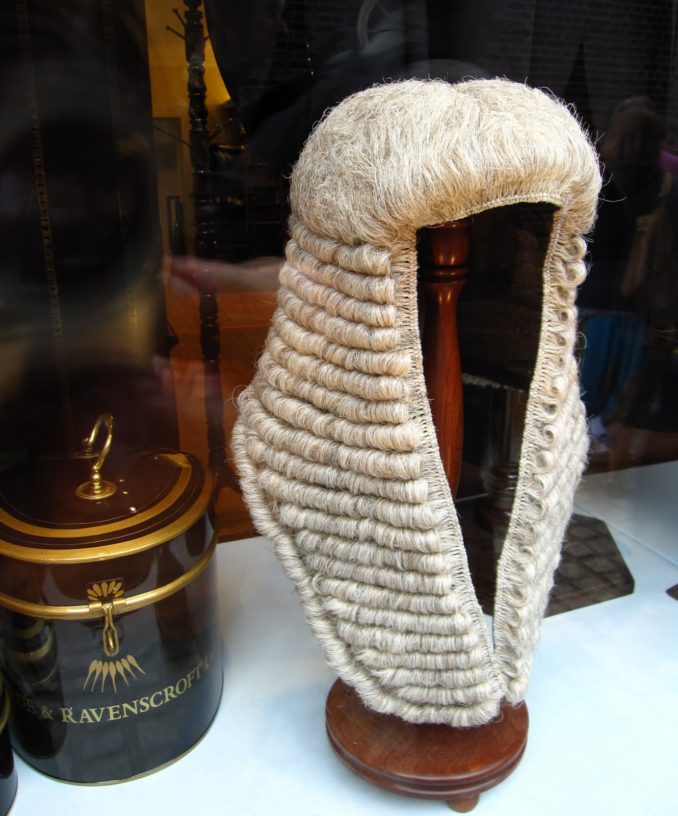 High Court Judge Peter Smith - High Court Judge's Wig